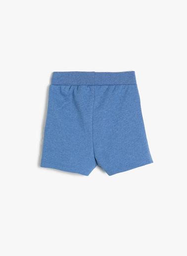 Koton Kids Şort Mavi